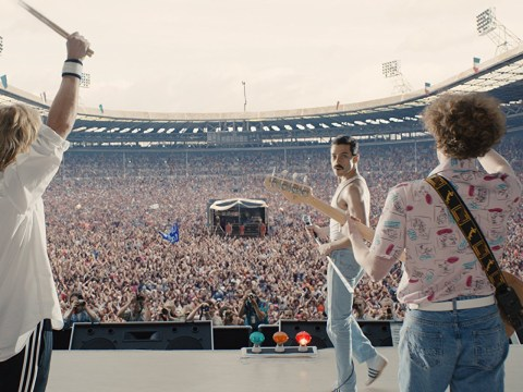 Bohemian Rhapsody's iconic Live Aid scene was filmed on day one of shooting