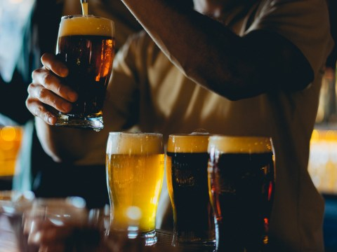 Pub chain wants to pay someone to stand around and drink beer at their local