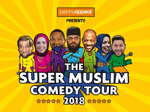 Muslim comedy show is touring the UK and the proceeds go to charity