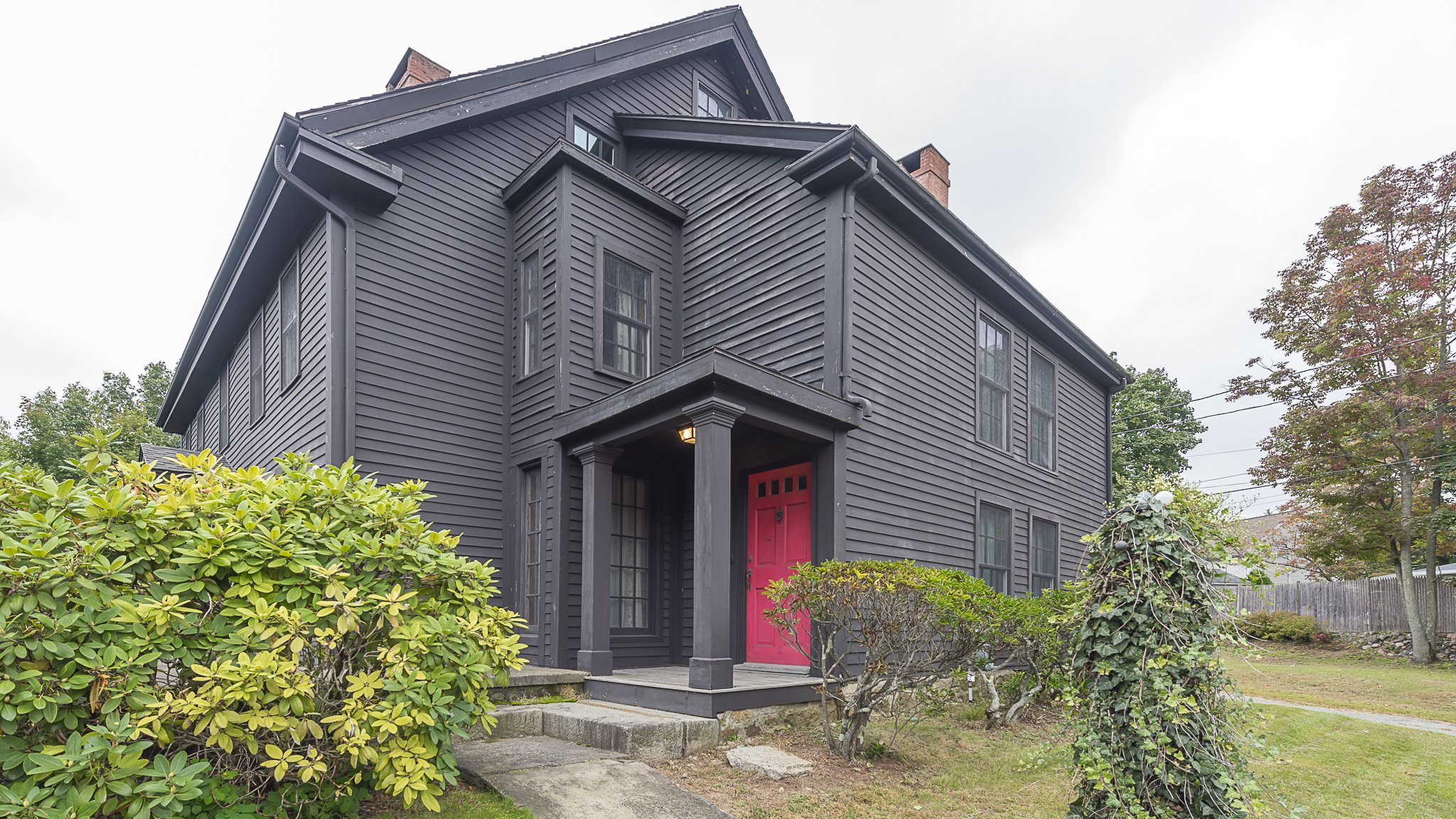 """MANDATORY CREDIT: J Barrett & Company/Cover Images Just in time for Halloween... a house owned by a Suffolk-born man hanged for witchcraft has gone on sale. The $600,000 property in Peabody, Massachusetts, is infamous as having been where John Proctor lived, a victim of the Salem witch trials. The 3,910sq-foot home was built in 1638 when it was part of Salem. Proctor, who was brought to America aged three, was a landowner in the Massachusetts Bay Colony. He was convicted and hanged for witchcraft in 1692, after being accused of wrongdoings including forcing a former servant to touch the """"Devil's Book"""". His life influenced Arthur Miller's play The Crucible, and he was portrayed by Daniel Day-Lewis in a 1996 film. Real estate agent Joe Cipoletta, of J. Barrett and Co., says the six-bedroom property is """"a grand example of Colonial and American History"""" and features """"period detail with the functionality of today's needs."""" Further description details include: """"Large eat in kitchen with plenty of workspace. The dining room can accommodate your largest holiday gathering. All the bedrooms offer storage and ample space to relax. Enjoy the summers around your oversized inground pool."""" John Proctor's House has been owned by a family for the past 30 years, however, the owner died 8 October at the age of 90. Michael Bonfanti, vice president of the Peabody Historical Society, told The Salem News: """"The Peabody Historical Society is looking to see if they can financially handle it and that's what we are in the process of doing."""" Where: Peabody, Massachusetts, United States When: 01 Oct 2018 Credit: J Barrett & Company/Cover Images **All usages and enquiries, please contact info@cover-images.com - +44 (0)20 3397 3000MANDATORY CREDIT: J Barrett & Company/Cover Images. Only for use in this story. Editorial Use Only. No stock, books, advertising or merchandising without photographer's permission**"""