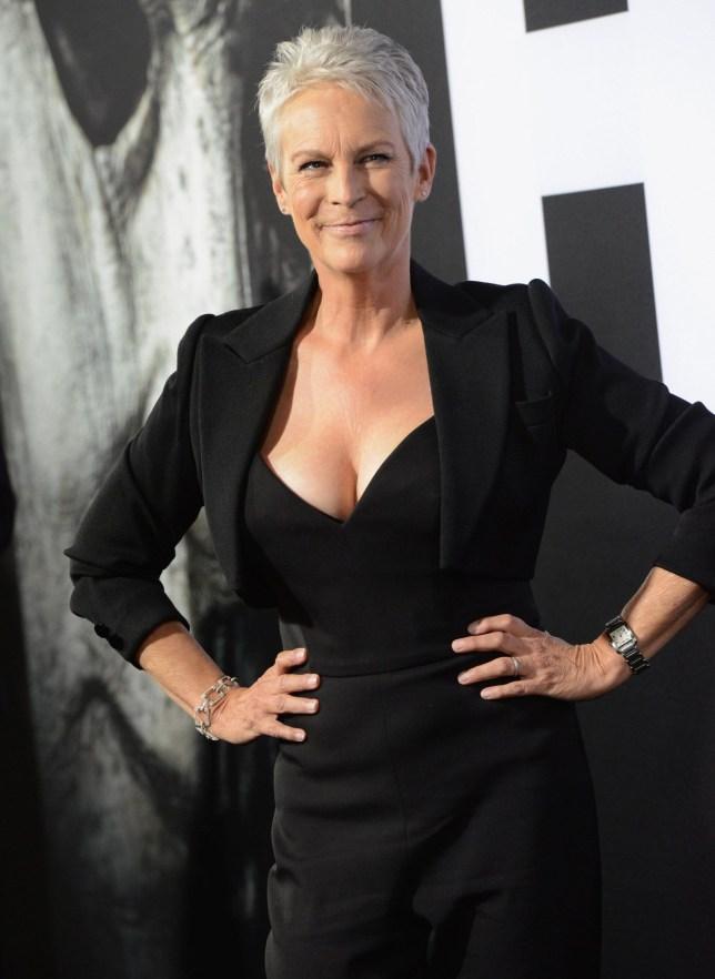 Hollywood Ca October 17 Actress Jamie Lee Curtis Arrives For The Universal Pictures