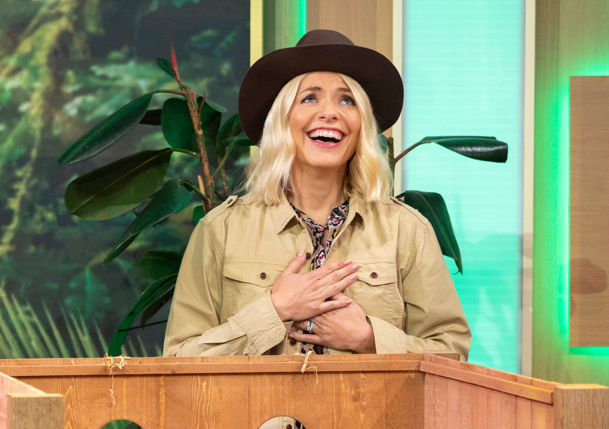 Scarlett Moffatt is excited for Holly Willoughby on I'm A Celebrity because she's bored of the boys