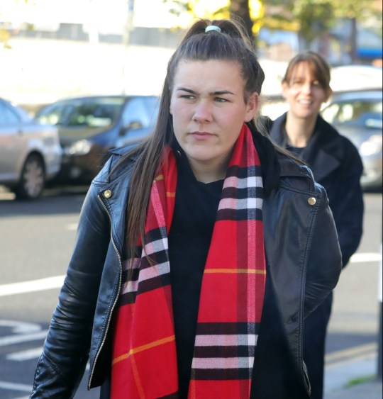 19/10/2018 Rebecca Kelly, 20yrs, of Pearse House, Pearse Street, Dublin pictured leaving the Four Courts yesterday(Fri) after she was awarded ???550,000 damages following a High Court action.Pic: Collins Courts