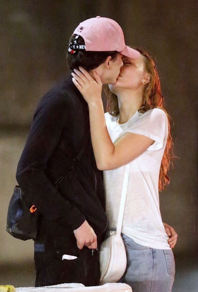 Timothee Chalamet and Lily-Rose Depp are ultimate young Hollywood power couple as they confirm romance with a kiss