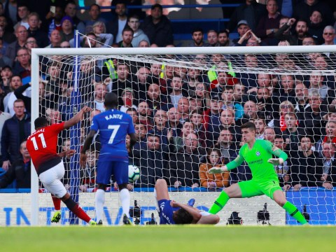 Arsenal fans mock Marcos Alonso for role in Anthony Martial goal against Chelsea
