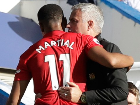 Anthony Martial breaks silence on Jose Mourinho rift