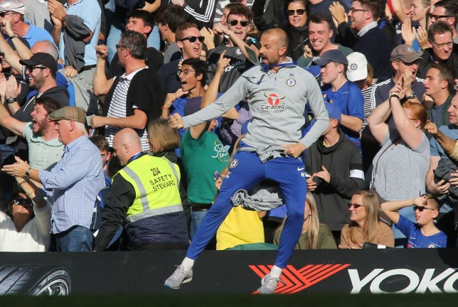 Chelsea News Marco Ianni Punished For Celebrating In Front