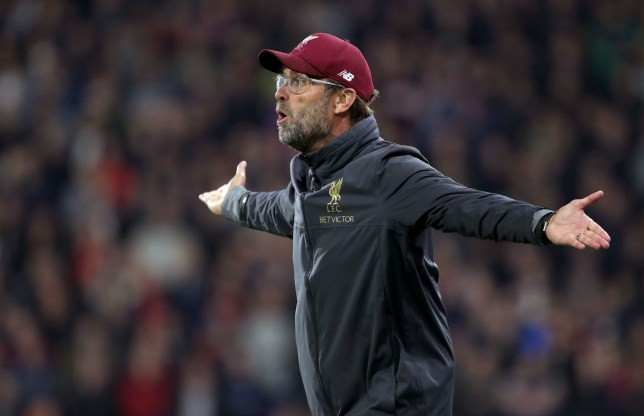 "Liverpool manager Jurgen Klopp on the touchline during the Premier League match at the John Smith's Stadium, Huddersfield. PRESS ASSOCIATION Photo. Picture date: Saturday October 20, 2018. See PA story SOCCER Huddersfield. Photo credit should read: Richard Sellers/PA Wire. RESTRICTIONS: EDITORIAL USE ONLY No use with unauthorised audio, video, data, fixture lists, club/league logos or ""live"" services. Online in-match use limited to 120 images, no video emulation. No use in betting, games or single club/league/player publications."
