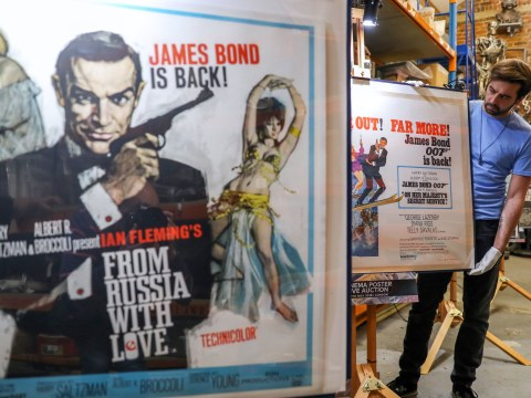 You can have these very rare James Bond posters if you have £28,000 to spare