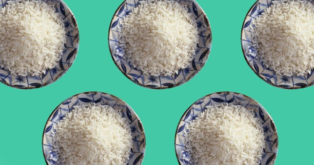 Cooking rice to half the calories