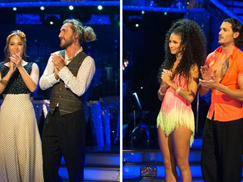 Strictly Come Dancing bosses hit back at 'fix' allegations after Vick Hope claims producers speak to judges during result