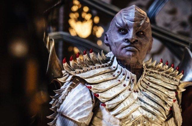 Star Trek Discovery season 2 photo finally gives clear look at the Klingons' extreme makeover Star Trek: Discovery season two. picture: CBS METROWEB