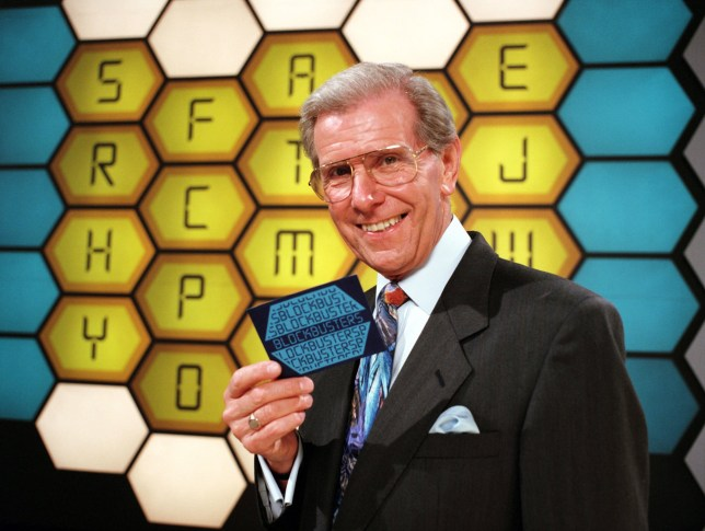 Editorial use only Mandatory Credit: Photo by ITV/REX/Shutterstock (509208ls) Blockbusters Bob Holness - 1987 ITV ARCHIVE