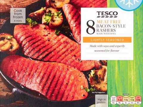 Tesco veggie bacon contains more salt than you find in seawater