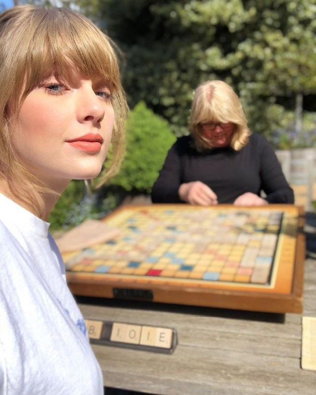 METRO GRAB - Taylor Swift Instagram Taylor Swift fans convinced she's working on new album after Scrabble tease Taylor Swift