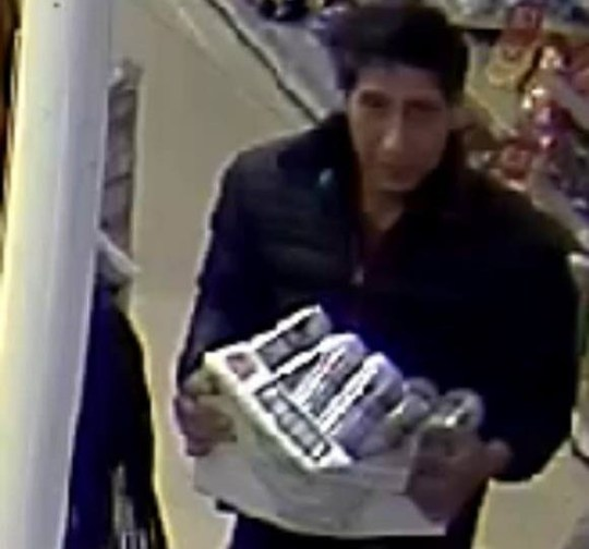 METRO GRAB FACEBOOK Blackpool Police are hunting Friends lookalike shoplifter Blackpool Police Like This Page ?? 2 hrs ?? Do you recognise this man? We want to speak to him in relation to a theft at a Blackpool restaurant on the 20th September. If you know who this is, please email 7798@lancashire.pnn.police.uk quoting log LC-20180920-0670. Thank you for your help.