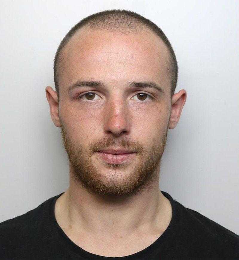 """James Forrest (Picture: West Yorkshire Police) A man who head-butted a British Transport Police officer while drunk at a train station was caught on body-cam footage shouting """"I AM RACIST AND PROUD"""". James Forrest, 22, was highly intoxicated at Leeds railway station and was acting in a highly anti-social manner shortly after 11pm on August 31. A BTP officer on patrol at the station then approached Forrest, from Leeds, West Yorks., and told him to leave. But the defendant became aggressive and verbally abusive, calling officers ?rats? and other derogatory terms."""