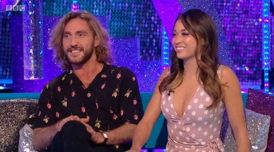 Seann Walsh is ready to forget about Katya Jones kiss scandal for this week's Strictly (Picture: BBC)