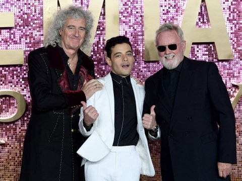 Rami Malek and Brian May are the champions at Bohemian Rhapsody world premiere