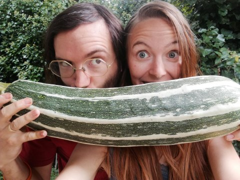 Vegan couple lived off food that was going to be thrown away