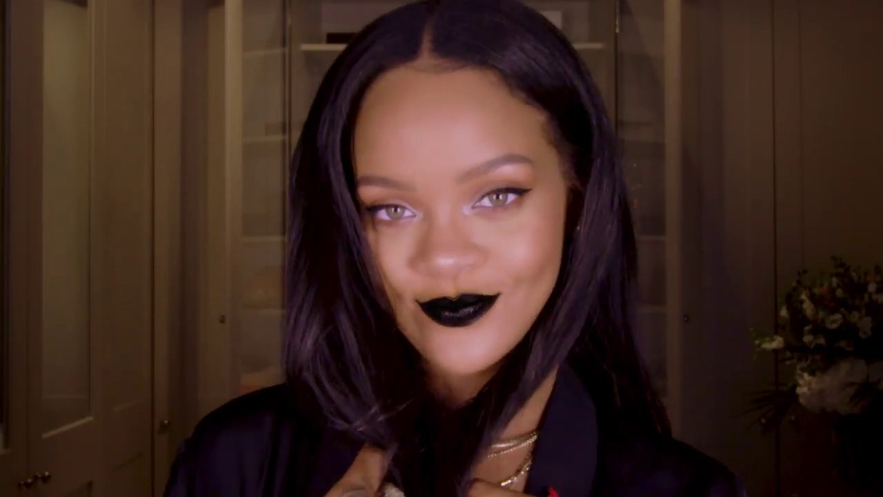 Rihanna shares her tips for achieving the gothic look this Halloween
