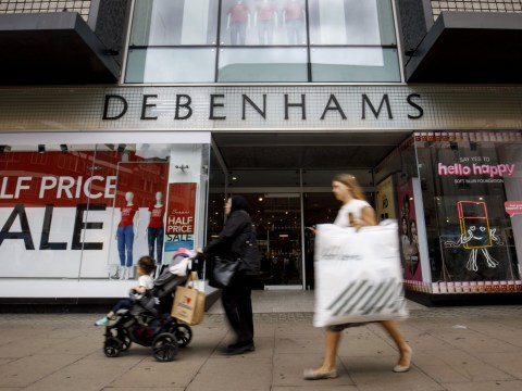 Debenhams to start closing shops putting 4,000 jobs at risk