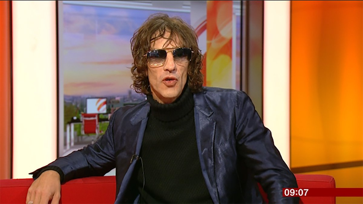 GRABS: Richard Ashcroft being funny on BBC Breakfast