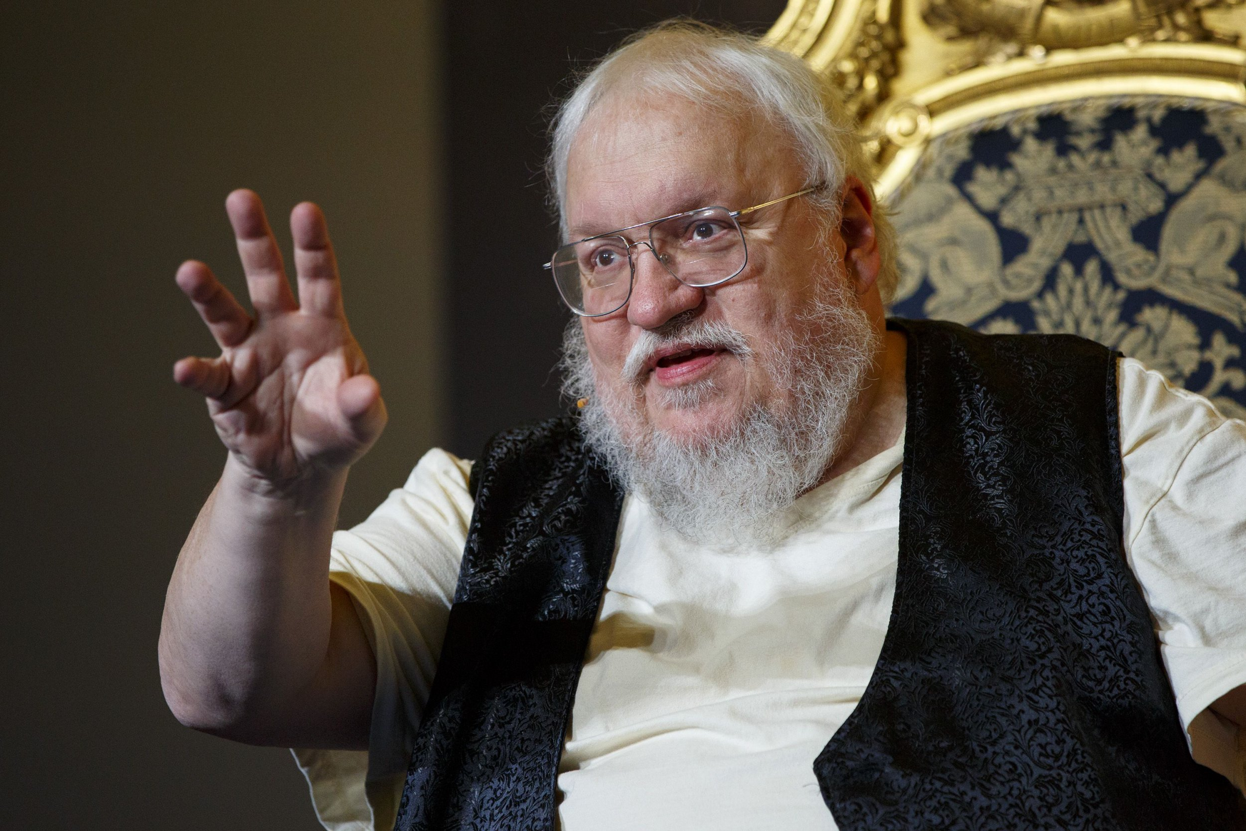 George RR Martin 'struggling' with final Game Of Thrones book