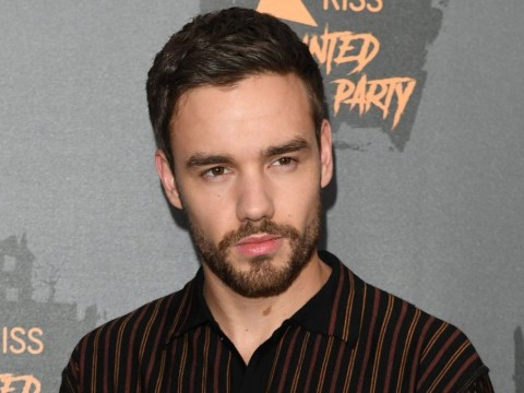 Liam Payne is basically the only one not in a Halloween costume for KISS Haunted House party – not awkward at all