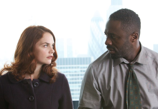TELEVISION PROGRAMME: 'Luther' Picture shows: Alice Morgan (Ruth Wilson) and DCI John Luther (Idris Elba) THIS PICTURE IS UNDER EMBARGO UNTIL TUES 27th April 2010 Picture shows: Alice Morgan (Ruth Wilson) and DCI John Luther (Idris Elba) TX: BBC One