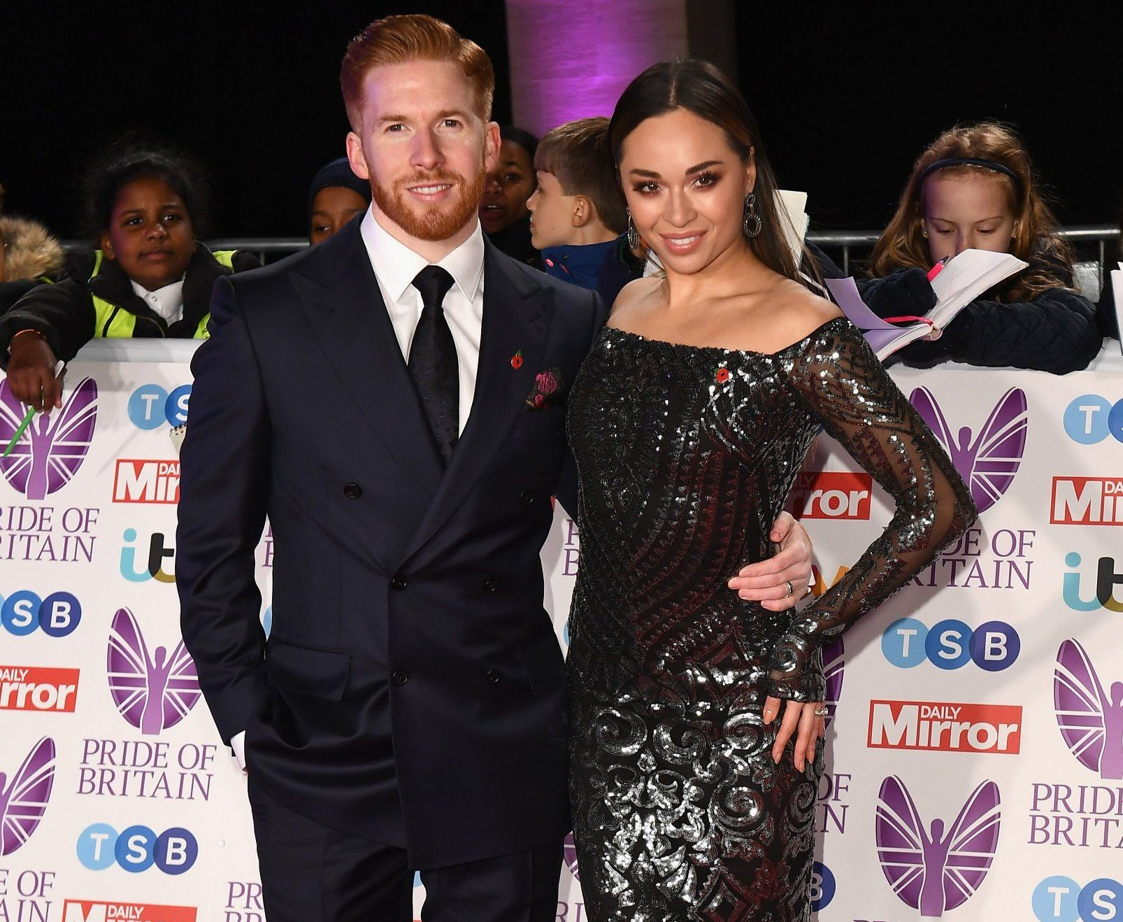 LONDON, ENGLAND - OCTOBER 29: Neil Jones and Katya Jones attend the Pride of Britain Awards 2018 at The Grosvenor House Hotel on October 29, 2018 in London, England. (Photo by Jeff Spicer/Getty Images)