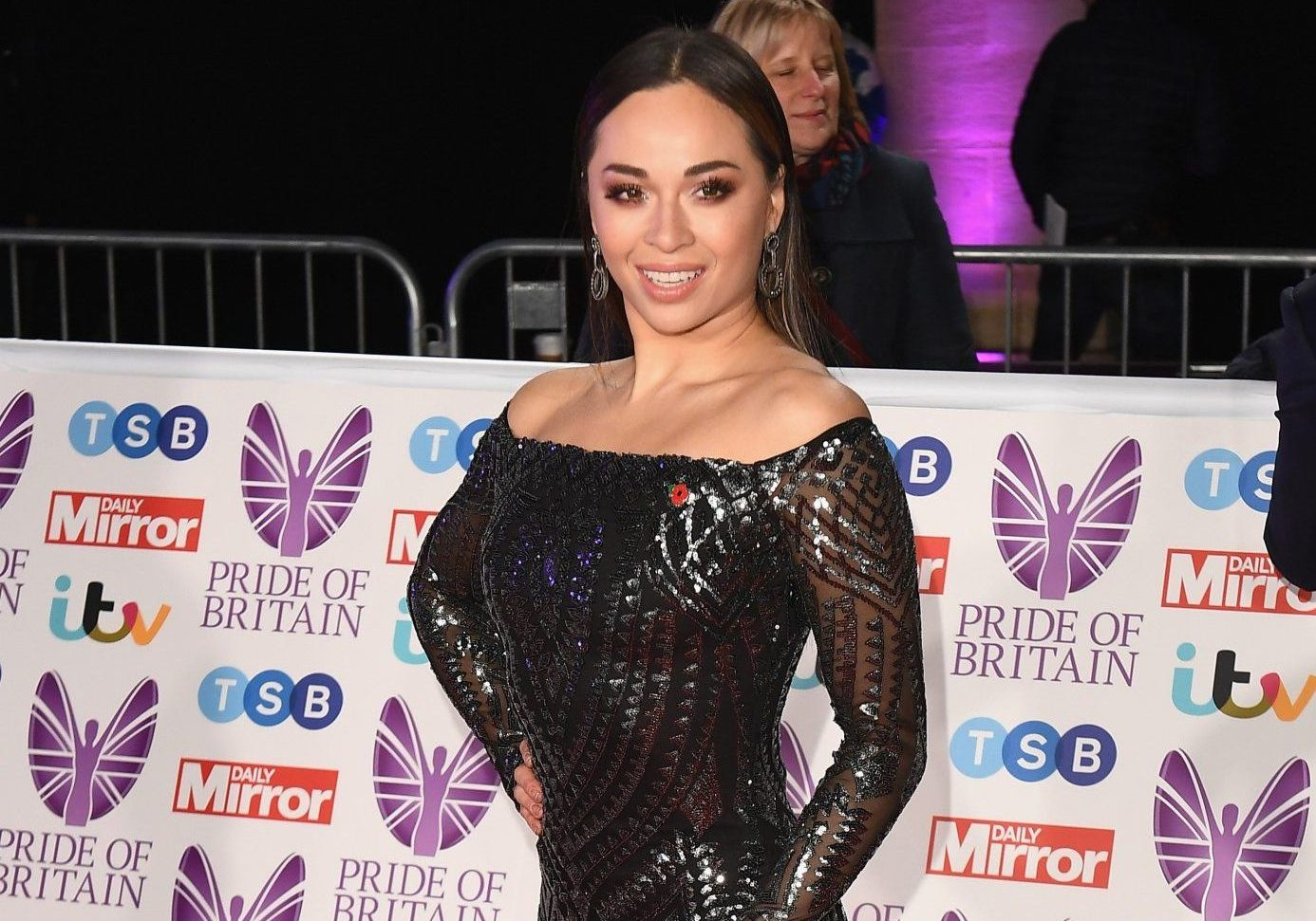 LONDON, ENGLAND - OCTOBER 29: Katya Jones attends the Pride of Britain Awards 2018 at The Grosvenor House Hotel on October 29, 2018 in London, England. (Photo by Jeff Spicer/Getty Images)