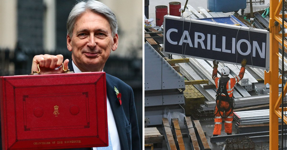 PFI scrapped in Budget 2018 following collapse of Carillion