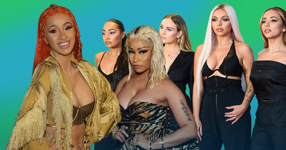 Cardi B claims she was offered Little Mix's Woman Like Me before Nicki Minaj as bitter feud rumbles on