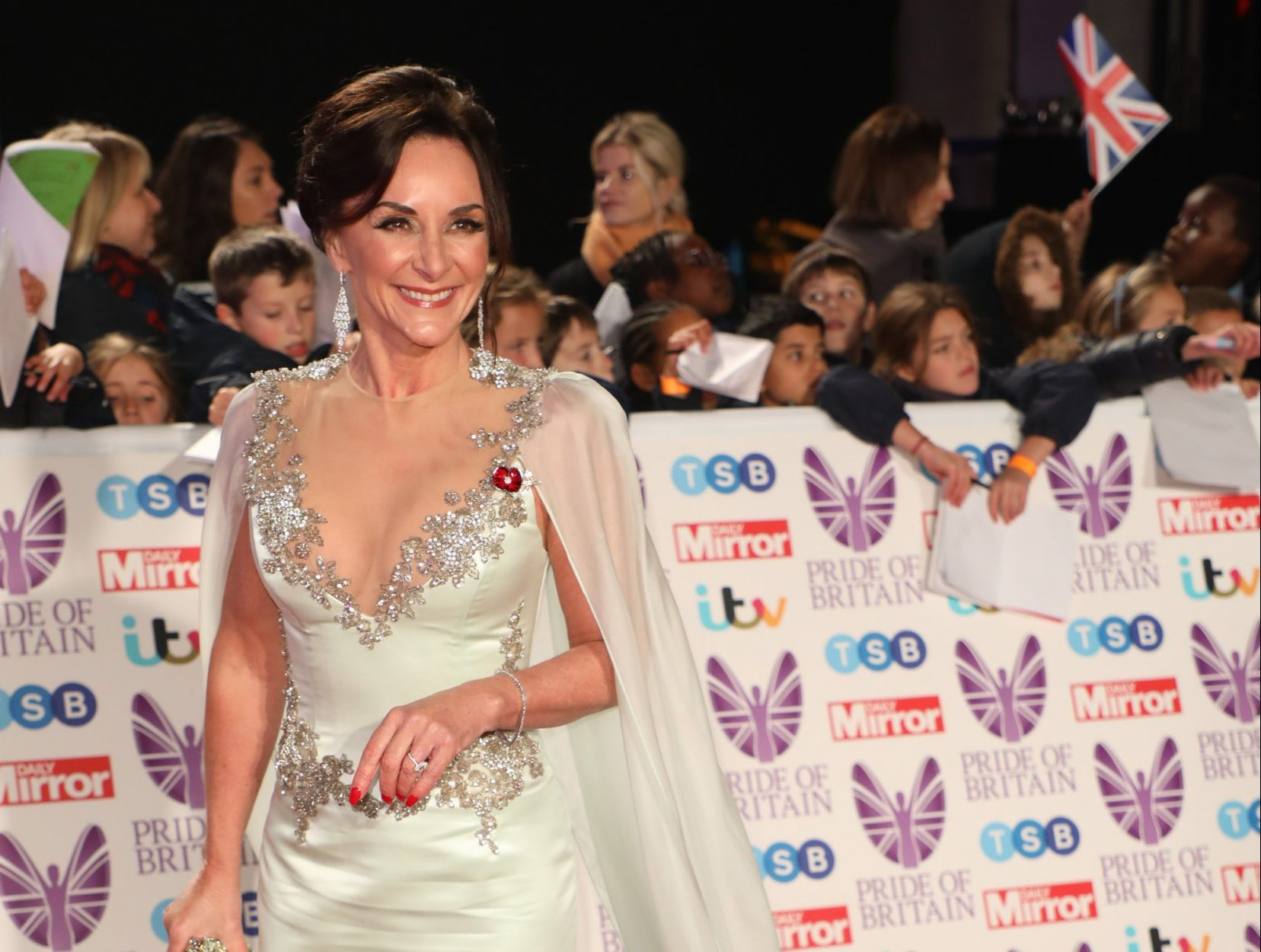THe Pride of Britain Awards 2018 held at Grosvenor House - Arrivals Featuring: Shirley Ballas Where: London, United Kingdom When: 29 Oct 2018 Credit: Lia Toby/WENN.com