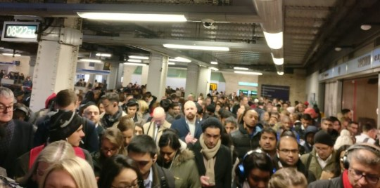 """King's Cross signal failure - """"@TfL and @MayorofLondon, the fact that tube services are getting worse every day is no secret, but today is disgusting and you should be ashamed of yourselves! No H&C and Circle services from Paddington, and huge delays on the Bakerloo line. Can't wait for the next price hike."""""""