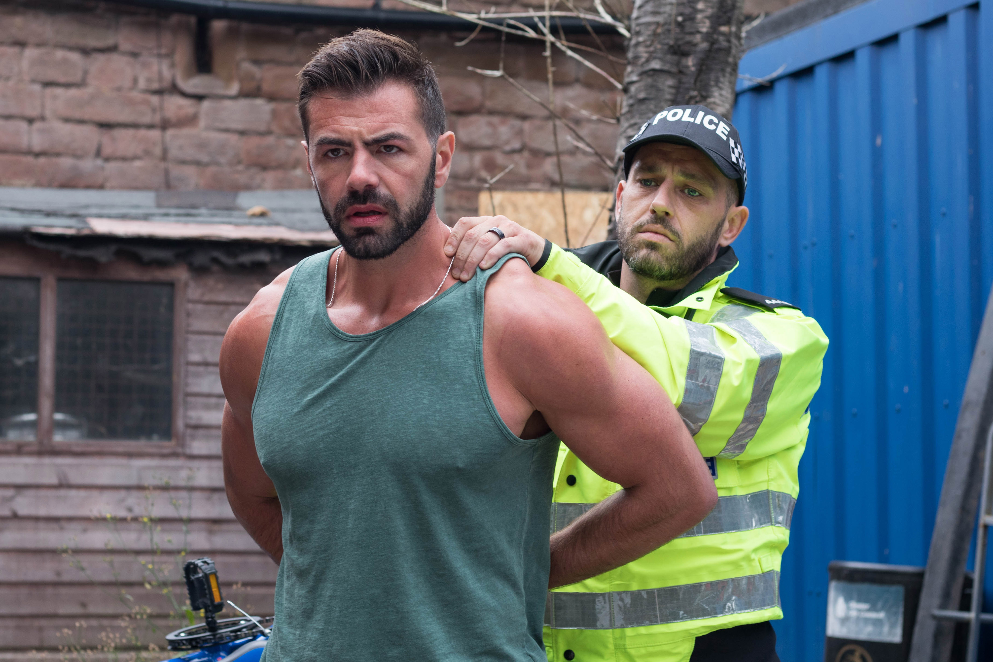 Hollyoaks spoilers: Sylver McQueen is arrested for Carl Costello's murder