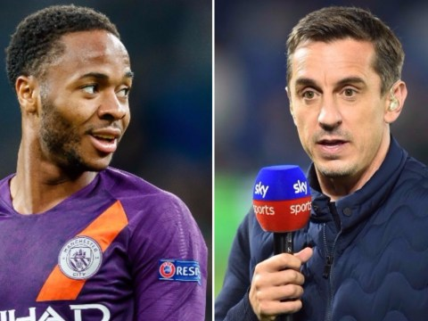 Raheem Sterling hits back at Gary Neville over Anthony Martial comparison