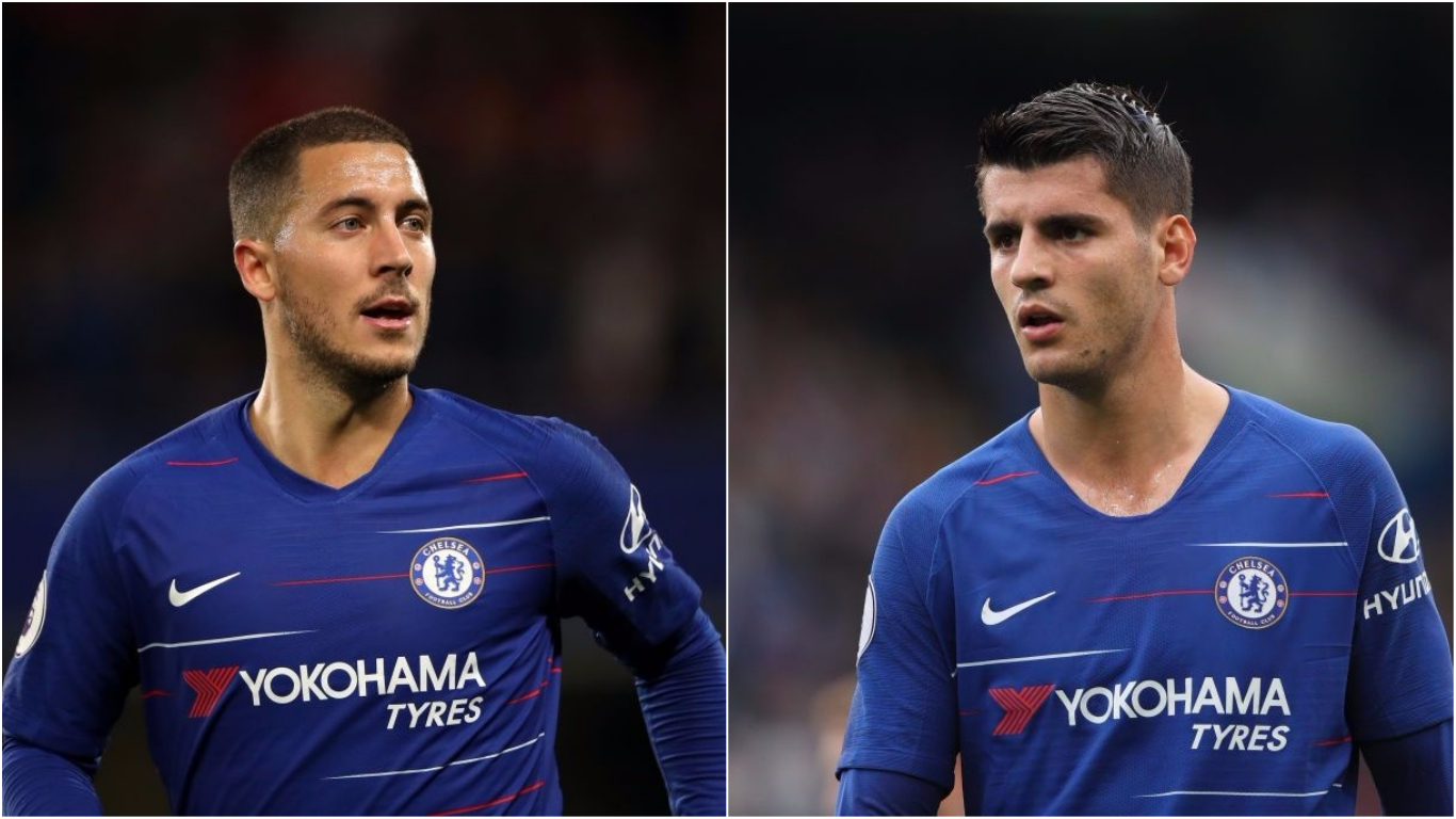 Alvaro Morata responds after Chelsea team-mate Eden Hazard says he 'dreams' of joining Real Madrid