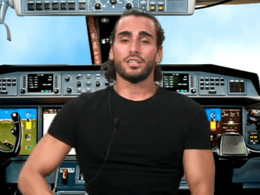 Big Brother shaded the hell out of Lewis F during a task and viewers are loving it
