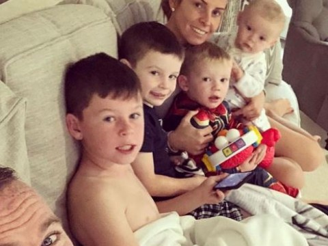 Wayne Rooney is loving family life Stateside in happy snap of wife Coleen and four sons