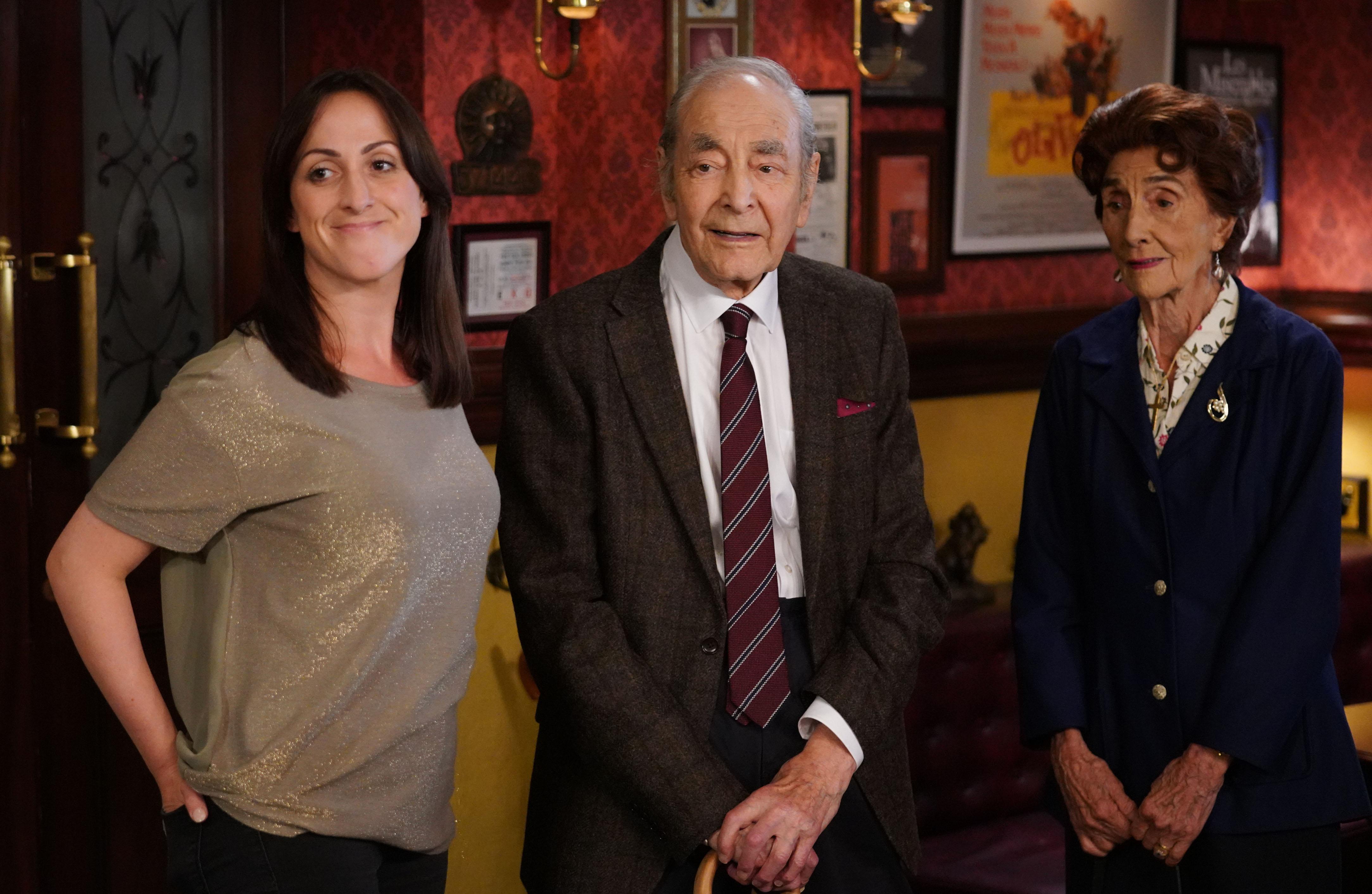 EastEnders spoilers: Who is Dot's friend Dr Legg as he returns?