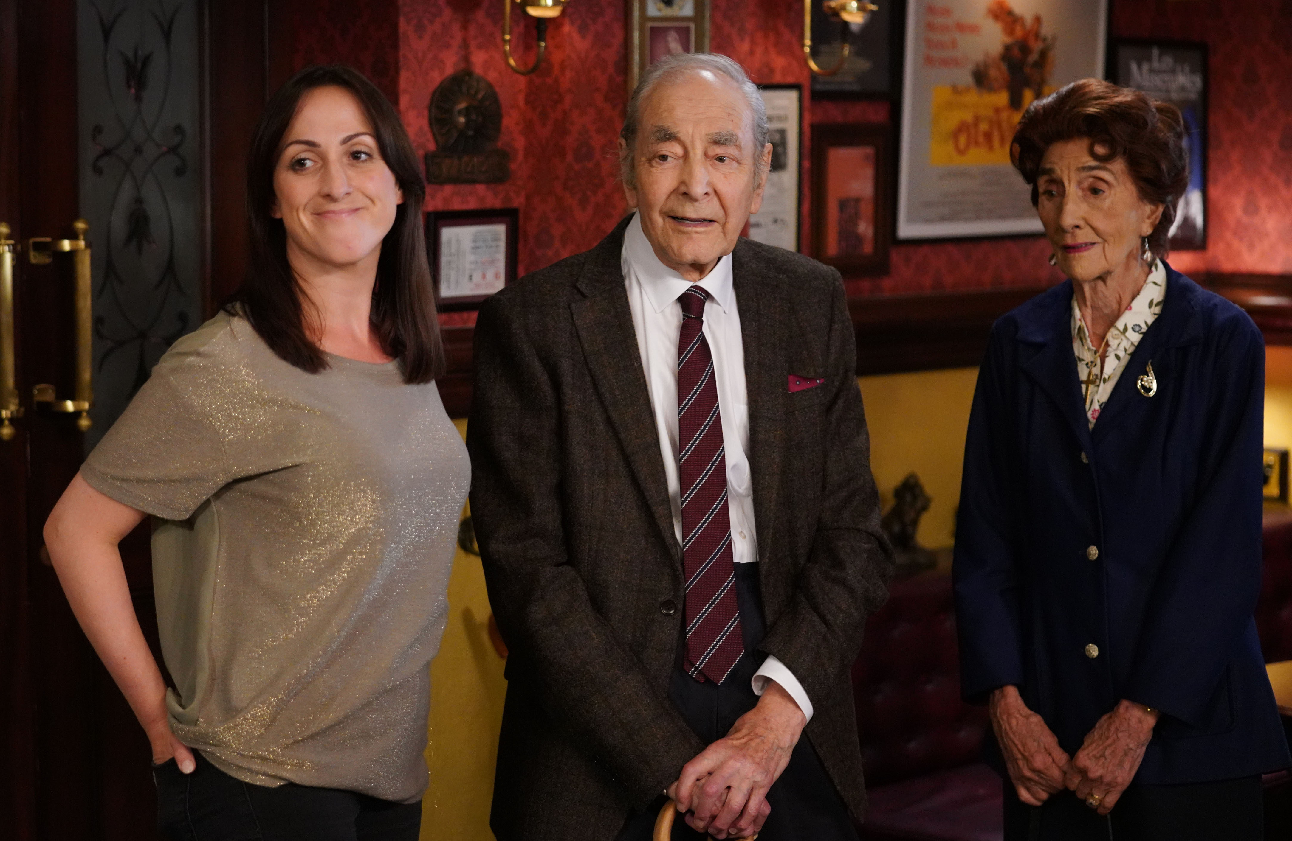 Dr Legg returns to EastEnders