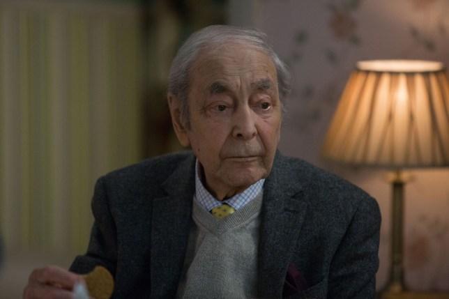 Dr Legg arrives home to die in EastEnders