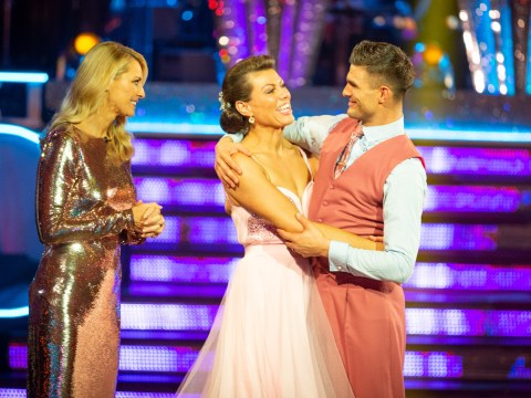 Who has left Strictly Come Dancing this week?