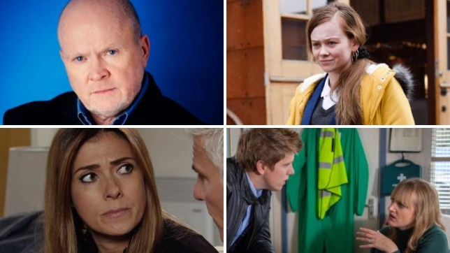 EastEnders, Coronation Street, Emmerdale and Hollyoaks spoilers for Phil, Brooke, Michelle, Robert and Nicola