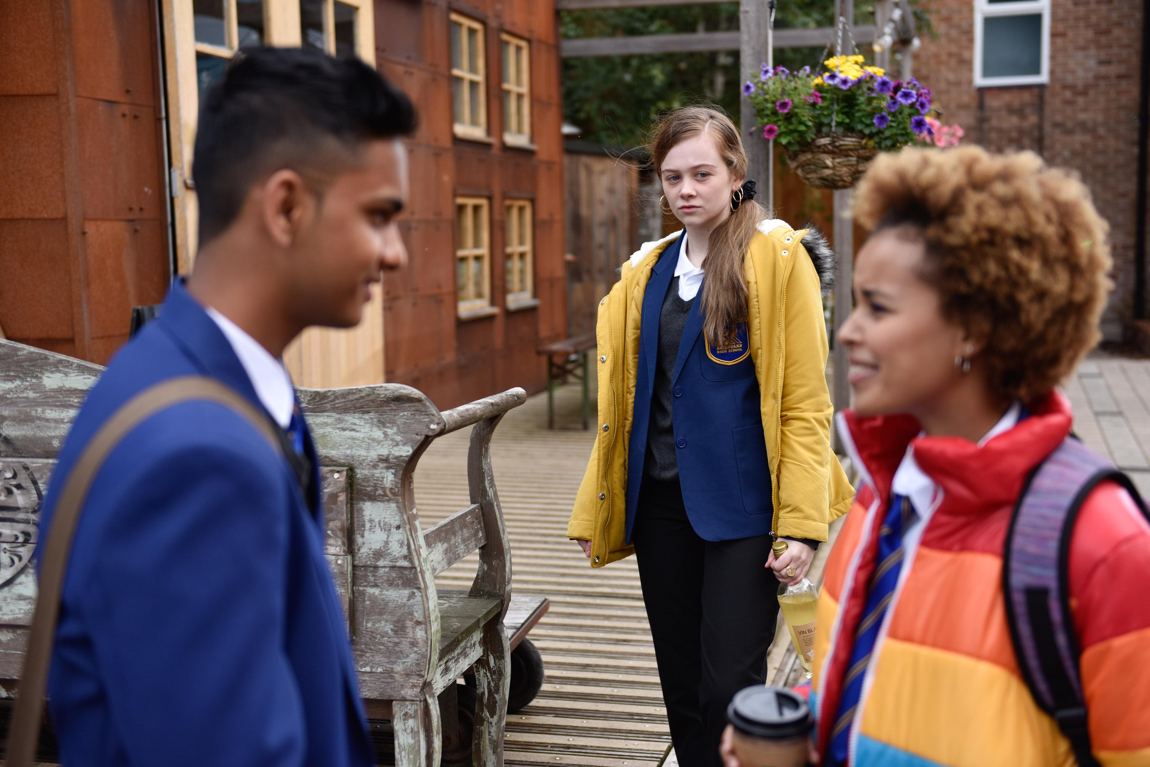 Juliet arrives in Hollyoaks