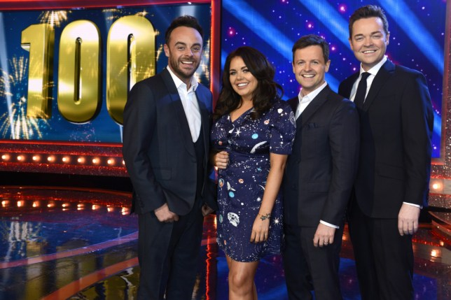Scarlett Moffatt on Saturday Night Takeaway