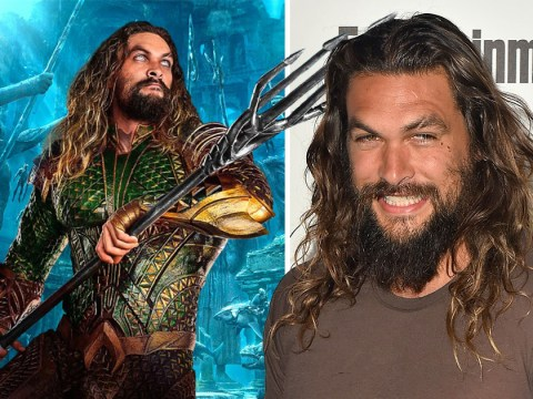 Jason Momoa struggled to 'poop' in his Aquaman costume as he reveals awkward superhero problems