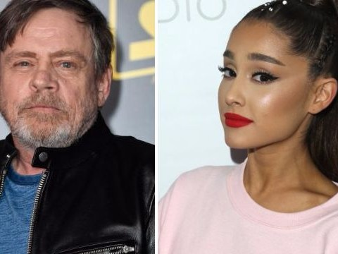 Ariana Grande and Mark Hamill give us the most ambitious crossover event in history with mix-up